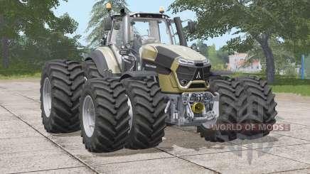 Deutz-Fahr Serie 9 TTV Agrotron〡twin weels для Farming Simulator 2017