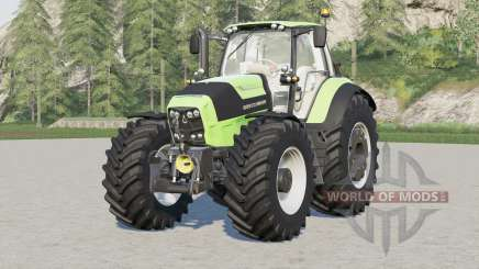 Deutz-Fahr Serie 7 TTV Agrotron〡with new tire config provided для Farming Simulator 2017