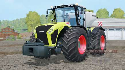 Claas Xerion 4500 Trac VC〡included is a weights для Farming Simulator 2015