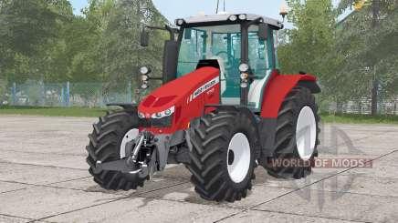 Massey Ferguson 5712〡wheels selection для Farming Simulator 2017