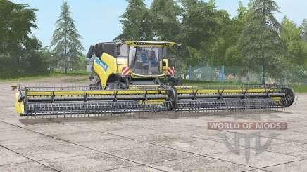 New Holland CR10.90〡wider wheels для Farming Simulator 2017