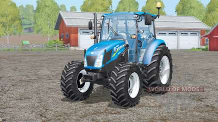 New Holland T4.75〡change wheels для Farming Simulator 2015