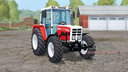 Steyr 8090A Turbo〡movable axis для Farming Simulator 2015