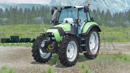 Deutz-Fahr Agrotron TTV 430〡narrow wheels для Farming Simulator 2013