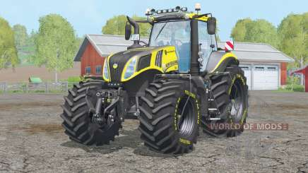 New Holland T8.420〡textur überarbeitet для Farming Simulator 2015