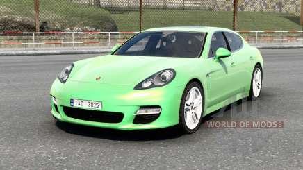 Porsche Panamera Turbo (970) 2009 v6.0 для Euro Truck Simulator 2