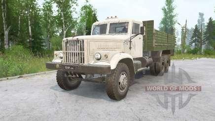 КрАЗ-257 для MudRunner