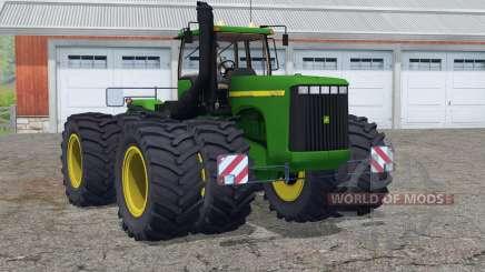 John Deere 9400〡new engine sound для Farming Simulator 2015