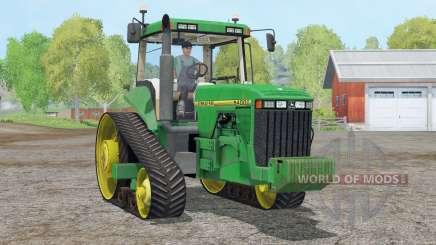 John Deere 8400T〡full lights для Farming Simulator 2015