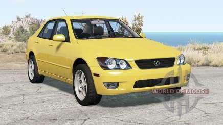 Lexus IS 300 (XE10) Զ001 для BeamNG Drive