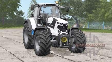 Deutz-Fahr Serie 6 TTV Agrotron〡white edition для Farming Simulator 2017