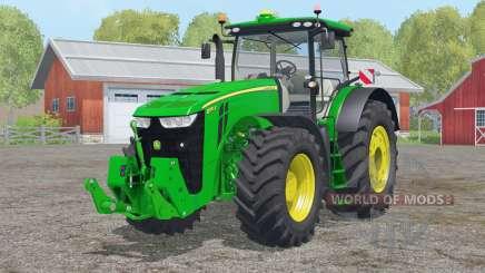 John Deere 8370R〡collapsible steering для Farming Simulator 2015