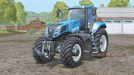 New Hollaꞑd T8.320 для Farming Simulator 2015