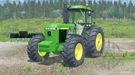 John Deere 4455〡full lights system для Farming Simulator 2013