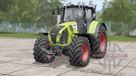 Claas Axion 800〡movable front axle для Farming Simulator 2017