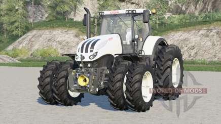 Steyr 6000 Terrus CVT〡narrow duals wheels для Farming Simulator 2017
