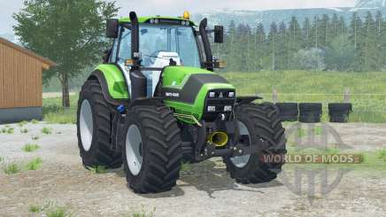 Deutz-Fahr 6190 TTV Agrotroᵰ для Farming Simulator 2013