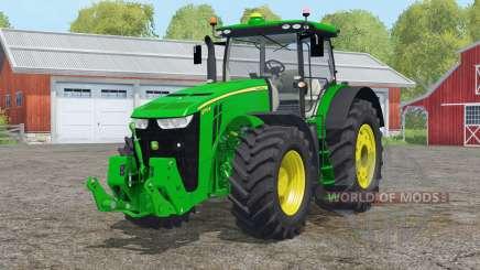 John Deere 8౩70R для Farming Simulator 2015