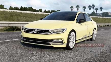 Volkswagen Passat R-Line (B8) 2015 для American Truck Simulator