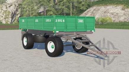 2ПТС-6〡выбор колёс для Farming Simulator 2017