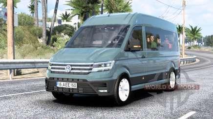 Volkswagen Crafter L1H2 Bus 2017 для American Truck Simulator