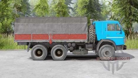 КамАЗ-5410 v1.2 для Spin Tires