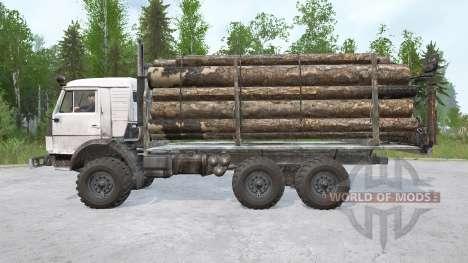 КамАЗ-43114 6х6 для Spintires MudRunner