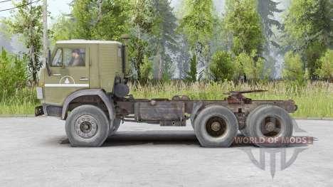 КамАЗ-5410 v1.3 для Spin Tires