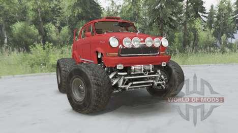 ГАЗ-21 Monster для Spin Tires