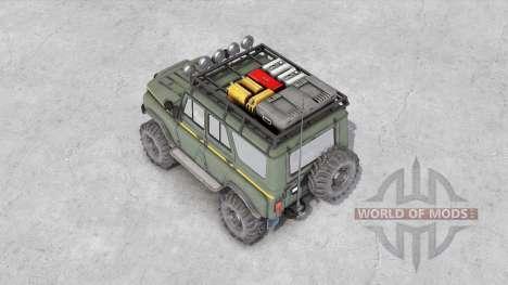 УАЗ-31514 v1.5 для Spin Tires