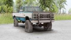 Dodge Power Ram 250 Club Cab 1990 для Spin Tires