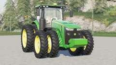 John Deere 8R series〡44 wheels configurations для Farming Simulator 2017