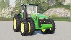 John Deere 8R series〡wing configuration для Farming Simulator 2017