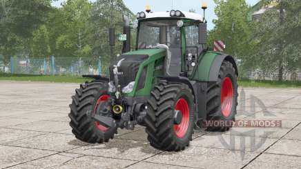 Fendt 828 Variø для Farming Simulator 2017