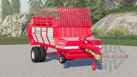 Pottinger Ernteboss 2〡twin tyres optional для Farming Simulator 2017