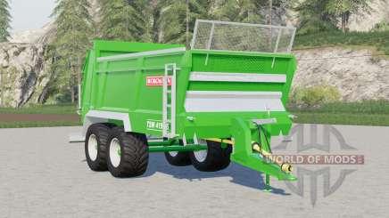 Bergmann TSW 4190 S〡minor fixed and improvements для Farming Simulator 2017