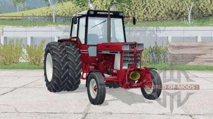 International 955〡dual rear wheels для Farming Simulator 2015