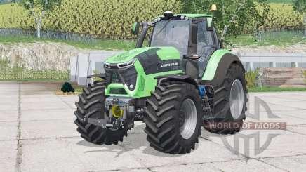 Deutz-Fahr 9340 TTV Agrotron〡extra weights для Farming Simulator 2015