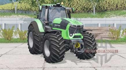 Deutz-Fahr 9340 TTV Agrotron〡speed increased для Farming Simulator 2015
