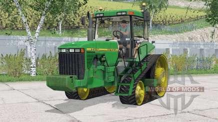 John Deere 8400T〡working lighting для Farming Simulator 2015