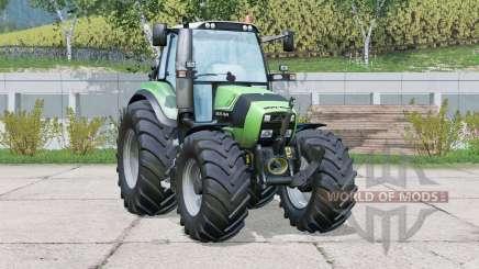 Deutz-Fahr Agrotron TTV 430〡change wheels для Farming Simulator 2015