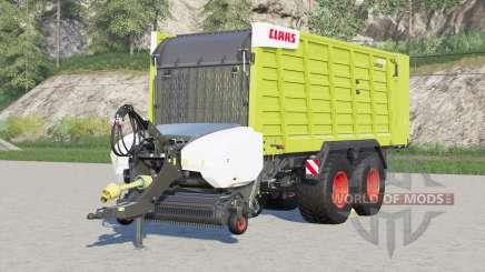 Claas Cargos 9500〡4 tyre brand configurations для Farming Simulator 2017