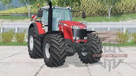 Massey Ferguson 87ろ7 для Farming Simulator 2015