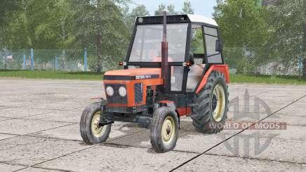 Zetor 7211〡movable front axle для Farming Simulator 2017
