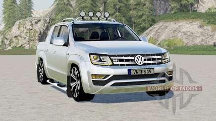Volkswagen Amarok Double Cab Aventura 2016〡animated dashboard для Farming Simulator 2017