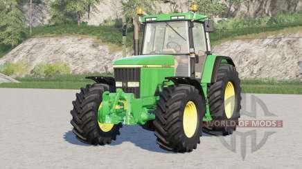 John Deere 7010 series〡old paint John Deere для Farming Simulator 2017
