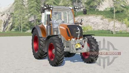 Fendt 300 Vario〡7 engine configurations для Farming Simulator 2017