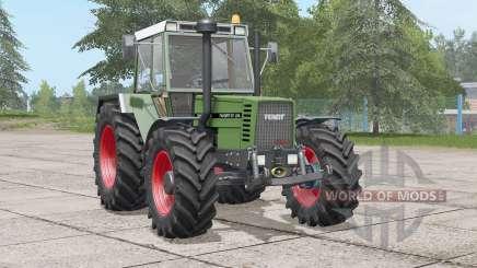 Fendt Favorit 610 LSA Turbomatik E〡selectable wheels для Farming Simulator 2017