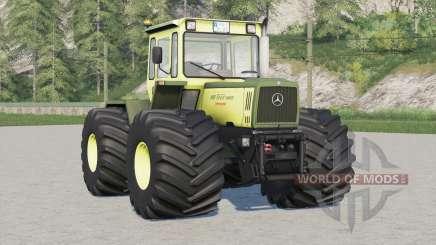 Mercedes-Benz Trac 1000〡Terra tires для Farming Simulator 2017