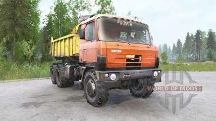 Tatra T81ƽ для MudRunner